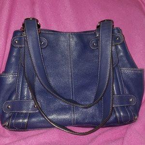 TIGNANELLO BAG NAVY BLUE